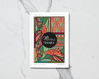 Merci Maurice, album de coloriages pour petits et grands