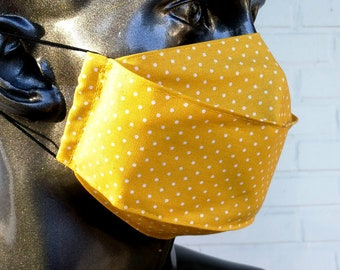 High Quality Handmade Mouthguard Mask Face Mask Double Layer cotton Washable Reusable Unisex Elegant Mouthguard Mask