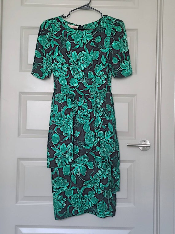 80s Vintage Maggy London by Jeannene Booher Green