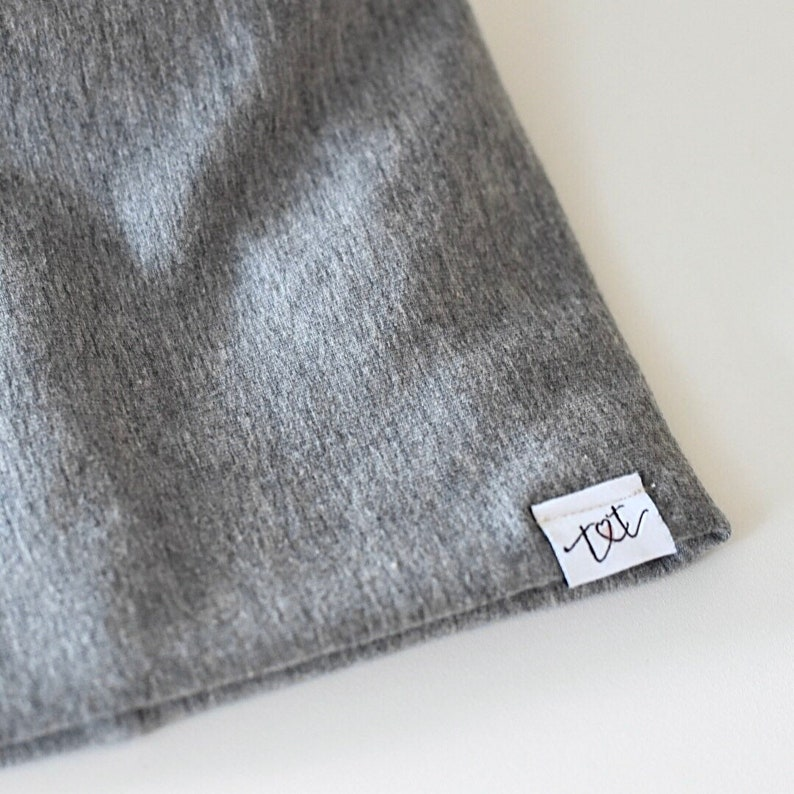 Slouch Beanie Bamboo Charcoal Fleece