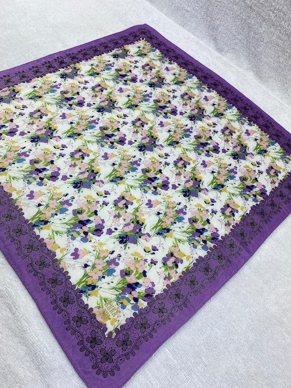 Vintage Anna Sui Bandana Handkerchief Neckerchief… - image 4