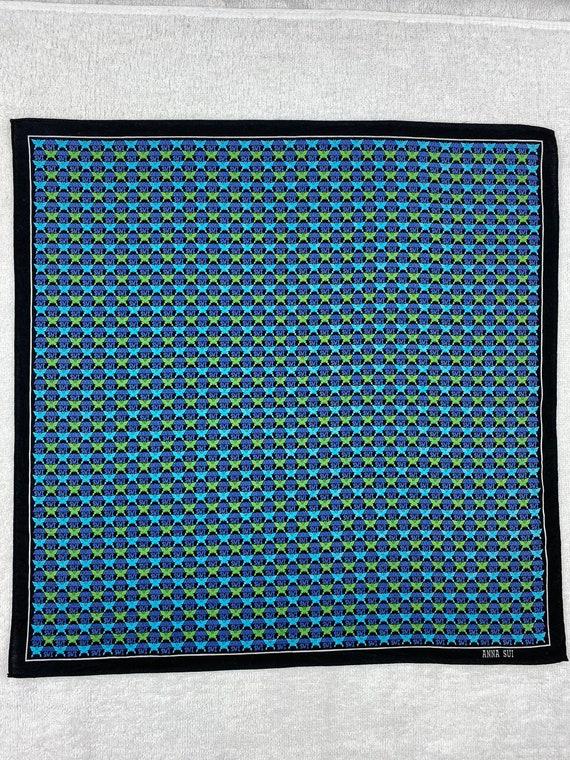 Vintage Anna Sui Bandana Handkerchief Neckerchief… - image 3