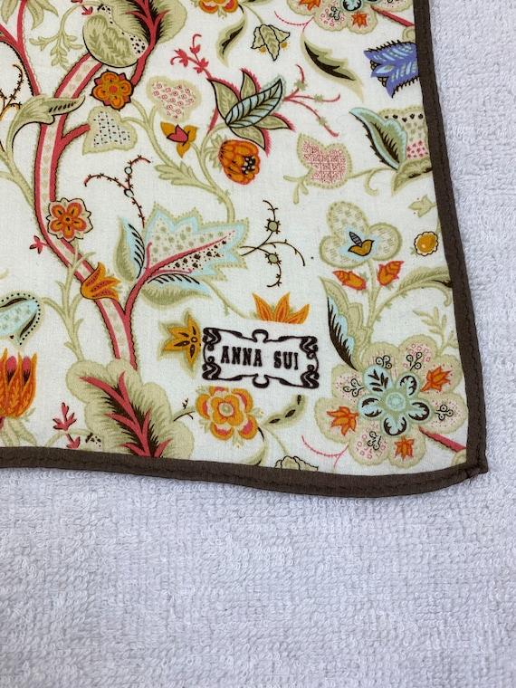 Vintage Anna Sui Bandana Handkerchief Neckerchief… - image 5
