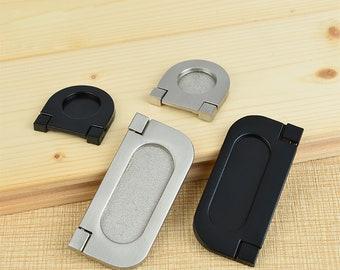 Extra Long Simple Style Stealth Shake Hidden Cabinet Pulls Handles Drawer Knobs Pulls Dresser Handle Pulls Knobs Hardware 400 500mm M065
