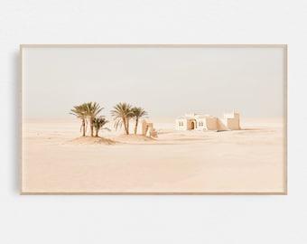 Samsung Frame TV Art   Moroccan Digital Art   Desert Digital Art   Art Frame TV   Print for Digital TV   Instant Download