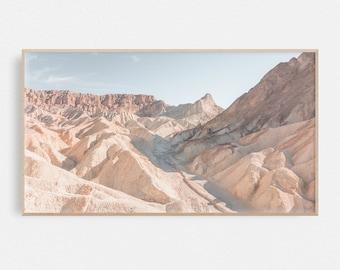 Samsung Frame TV Art Landscape   Frame Tv Art Desert   Death Valley Art   Art Frame TV   Print for Digital TV   Instant Download