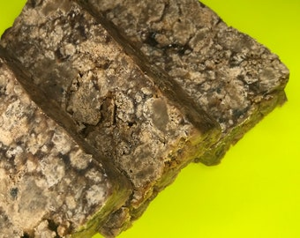 Premium Authentic Raw African Black Soap// Solid Bar // Acne Soap// Cleansing//