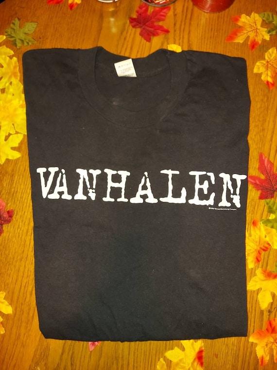 Authentic vintage 1993 Van Halen concert t-shirt