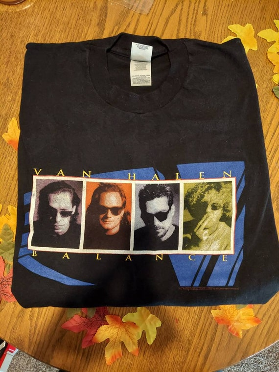Van Halen vintage Balance concert t-shirt