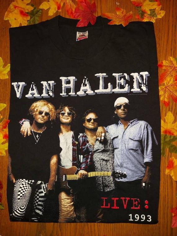 1993 Van Halen authentic vintage concert t-shirt