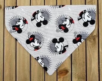 Mickey and Minnie/'s Snow Day Dog Bandana