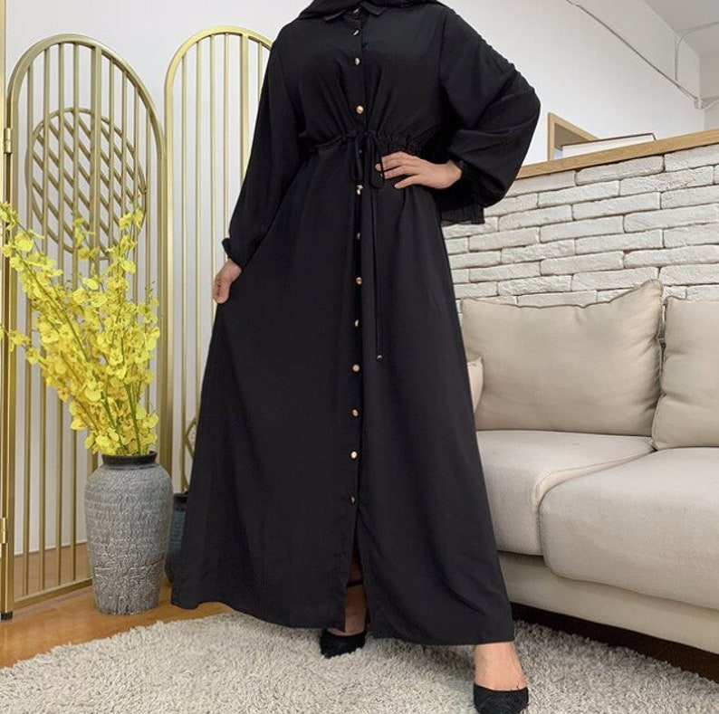 Casual Clothing Eid EidRamadan Abaya and Kaftan Maxi Dress Modest Wear Summer Dress