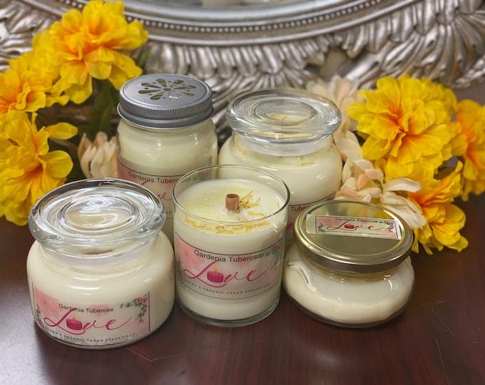 Gardenia Tuberose Soy Candles