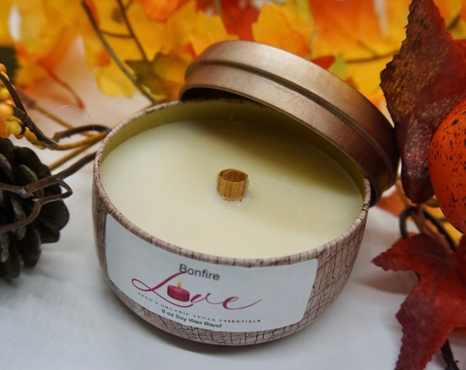 Bonfire Soy Wax Candle