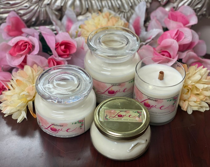 Vetiver Soy Candle