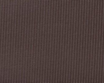 1 5/6 Yards 1965 GM Vintage Brown Auto Vinyl w/ Vertical Lines