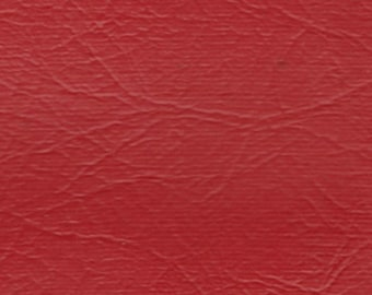 BTY Vintage Red Auto Vinyl w/ 4 Inch Channels