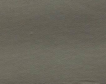 BTY Vintage Silver Grey Auto Vinyl w/ Heat Pressed Dots