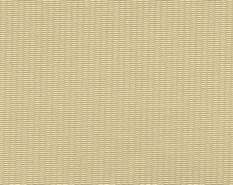 BTY Vintage Pale Yellow Auto Vinyl w/ Thin Lines