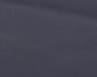 1 1/4 Yards Vintage Dark Blue Auto Vinyl w/ Leather Like Grain