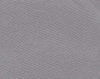 BTY Vintage Light Grey Auto Vinyl w/ Pebbled Grain