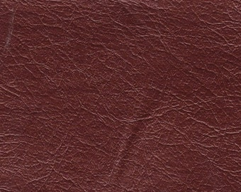 1 1/4 Yards plus 1 Large, 1 Small Remnant 1962 GM Dark Copper Vintage Auto Vinyl w/ Pearl Finish