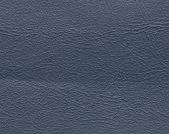 2 Yards Vintage Dark Blue Auto Vinyl w/  Fine Grain