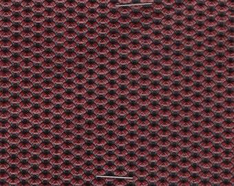 BTY 1975-1976 Chrysler Vintage Red and Black Auto Vinyl w/ Basket Weave