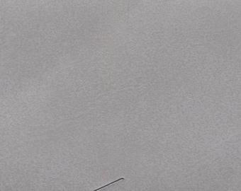 BTY Vintage Silver Auto Vinyl w/ Very Light Grain