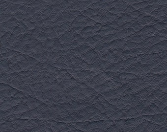 BTY Vintage Blue Auto Vinyl w/ Deep Heavy Grain