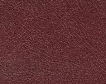 BTY Vintage Plum Red Auto Vinyl w/ Shallow Piercings
