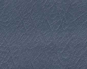 BTY Vintage Dark Grey Blue Auto Vinyl w/ Heavy Grain