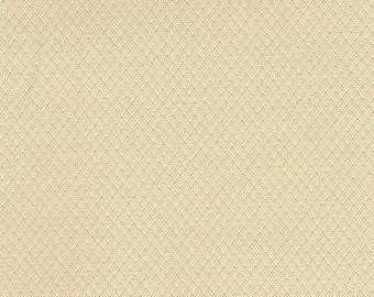 BTY 1976-79 Ford Vintage Cream White Auto Vinyl w/ Tiny Diamonds