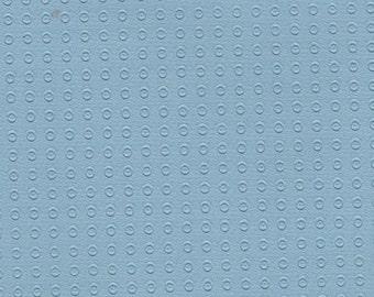 2+ Yards 1961-62 Vintage Light Blue Auto Vinyl Headliner w/ Heat Pressed Dots
