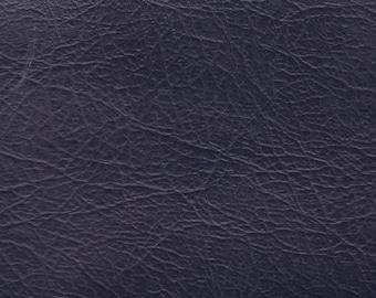 BTY Blue Vintage Auto Vinyl w/ Elephant Skin