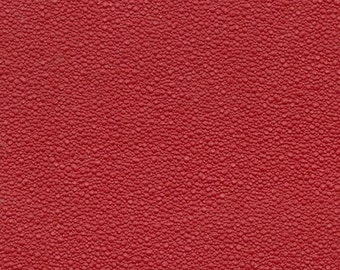 1 3/4 Yards 1970 Ford Vintage Red Auto Vinyl Headliner w/ Small Craters