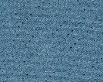 BTY 1967 GM Blue Vintage Auto Vinyl Headliner w/ Heat Pressed Waves and Dots