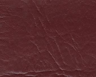 BTY Vintage Glossy Red Auto Vinyl w/ Elephant Skin