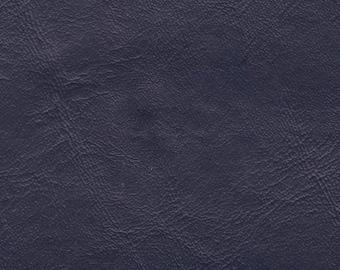 BTY Deep Blue Vintage Faux Leather Auto Vinyl