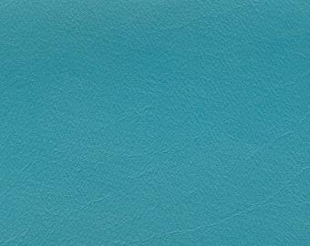 2 Yards Vintage Turquoise Auto Vinyl w/ Elephant Skin