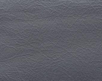 BTY Vintage Silver Grey Auto Vinyl w/ Rhino Skin