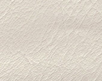 1 Yard Vintage White Auto Vinyl w/ Pearl Finish