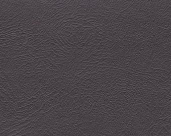 1 2/3 Yards 1982 GM Vintage Grey Auto Vinyl w/ Fine Grain
