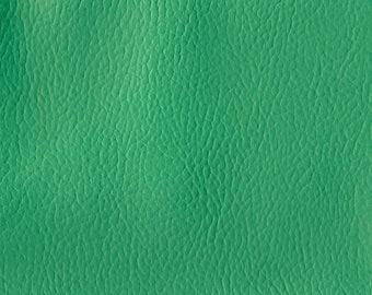 BTY Beautiful Vintage 60s Turquoise Auto Vinyl w/Pebbled Grain