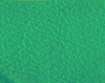 BTY  Beautiful Vintage 60s Turquoise Marine Quality Vinyl w/Rhino Skin Grain