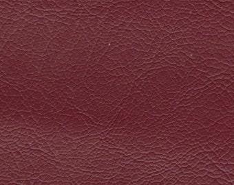1 5/6 yard Vintage Auburn Red Auto Vinyl w/ Rhino Skin