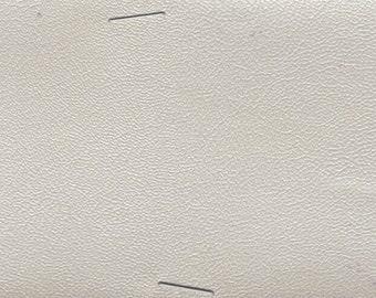 BTY 1965 Chrysler Vintage Bright White Auto Vinyl w/ Fine Grain