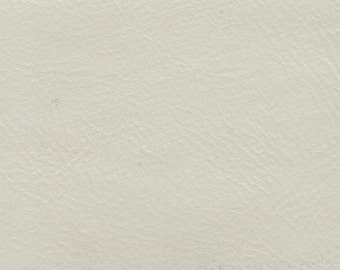 BTY Vintage Bright White Auto Vinyl w/ Pearl Finish
