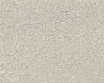 2 Yards 1973 GM Vintage White Auto Vinyl w/ Elephant Skin