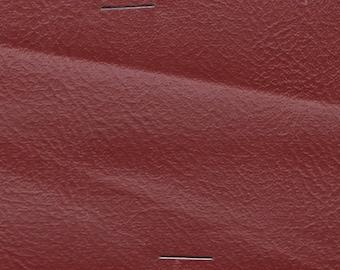 BTY Vintage Garnet Red Auto Vinyl w/ Shallow Perforations